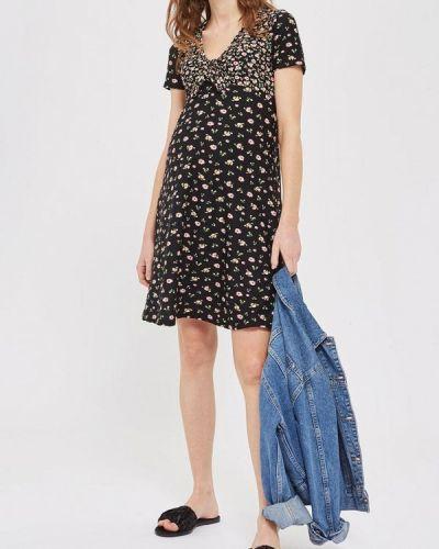 Черное платье весеннее Topshop Maternity