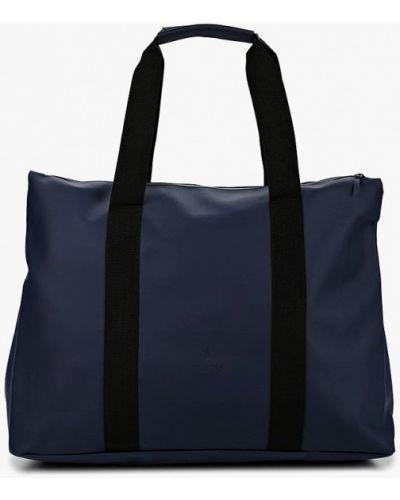 Дорожная сумка синий Rains