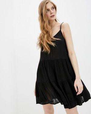 Платье платье-сарафан черное Befree