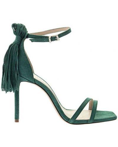 Zielone sandały Schutz