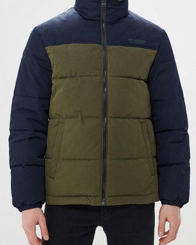 Зимняя куртка утепленная зеленая Springfield