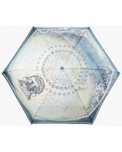 Бирюзовый зимний зонт Eleganzza