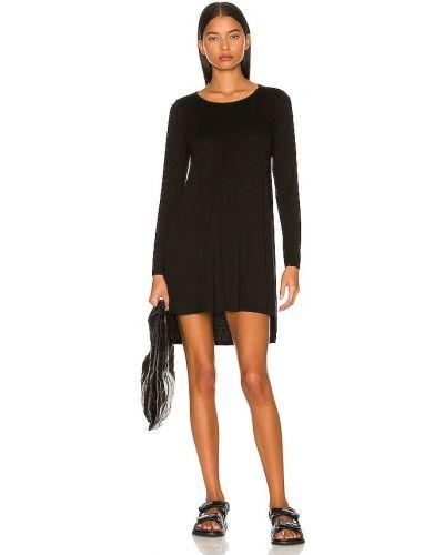 Трикотажное платье - черное Michael Lauren