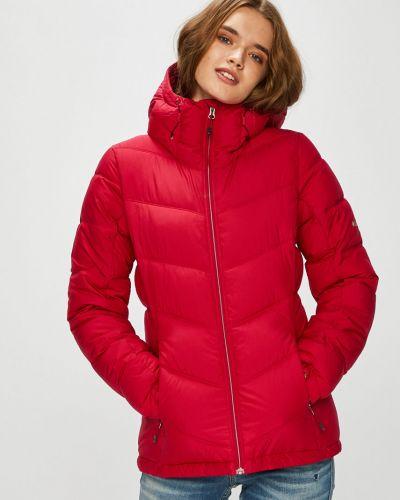 Стеганая куртка утепленная с капюшоном Columbia
