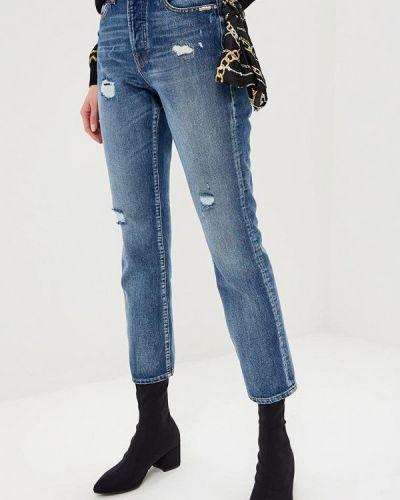 Синие прямые джинсы Guess Jeans