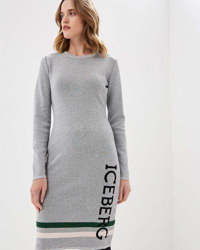 Вязаное платье осеннее трикотажное Iceberg