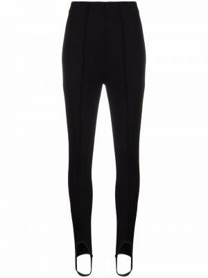 Черные брюки с манжетами Anine Bing