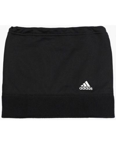 Черный зимний снуд Adidas