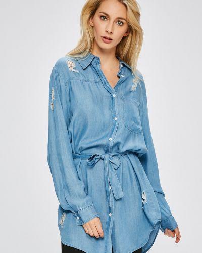 Джинсовое платье в стиле бохо мини Answear