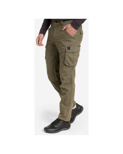 Утепленные брюки - коричневые Outventure