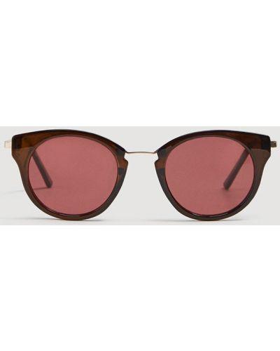 Солнцезащитные очки круглые Mango
