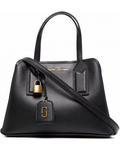 Кожаная сумка - черная Marc Jacobs