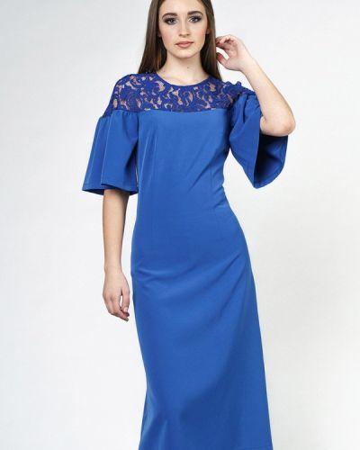 Вечернее платье - синее Oks By Oksana Demchenko