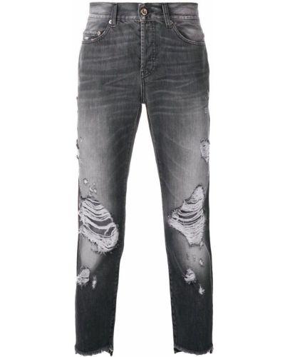 Прямые джинсы рваные с карманами Overcome