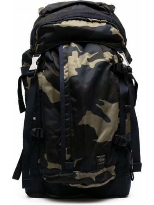 Plecak z printem - czarny Porter-yoshida & Co
