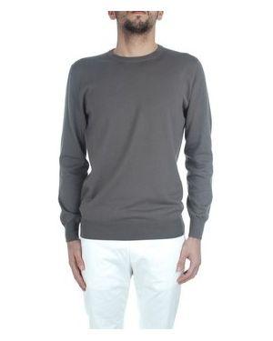 Szary sweter Cruciani