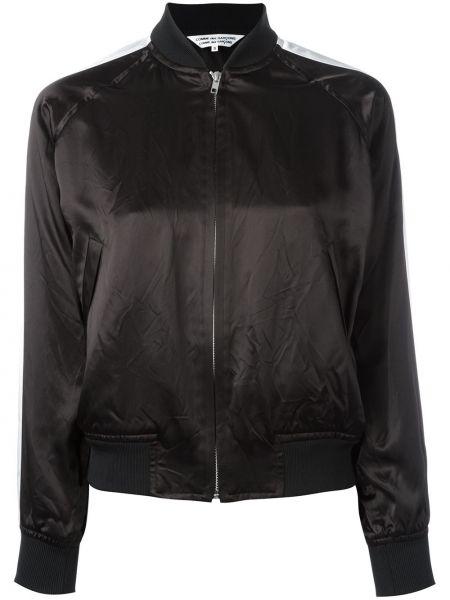 Нейлоновая черная куртка Comme Des Garçons Comme Des Garçons