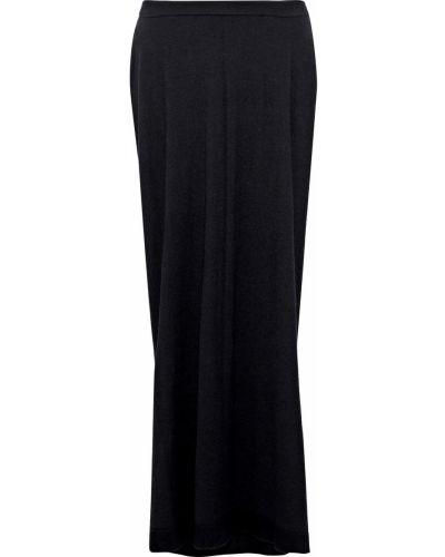 Długa spódnica - czarna Rick Owens