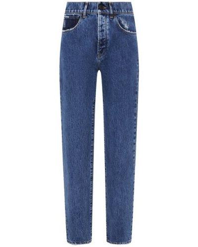 Хлопковые джинсы - синие 3x1