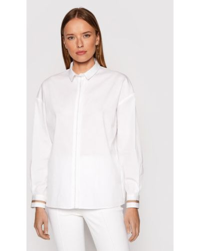 Biała bluzka Peserico