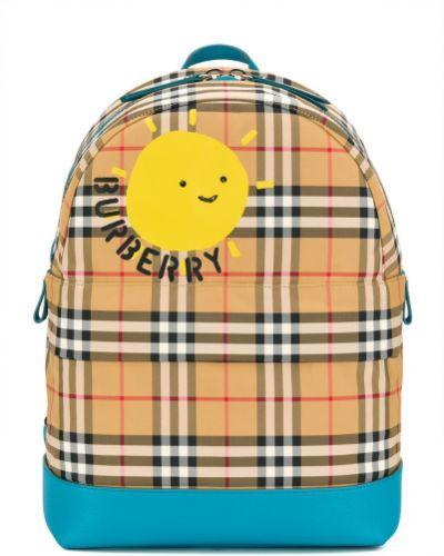 Рюкзак коричневый Burberry Kids