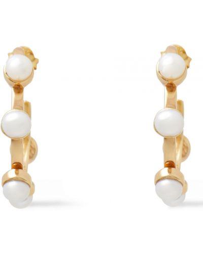 Kolczyki sztyfty srebrne perły Cornelia Webb