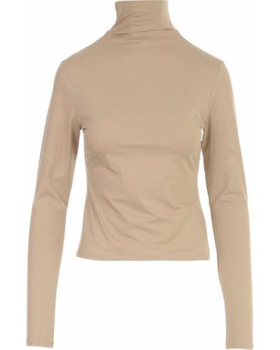Beżowa koszulka Lemaire