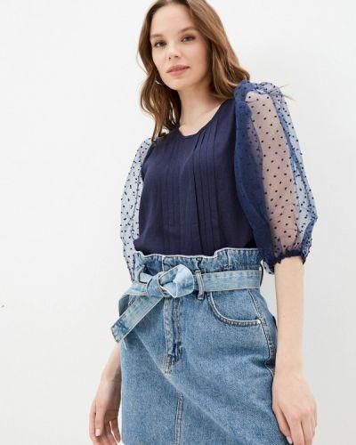 Блузка - синяя Bruebeck