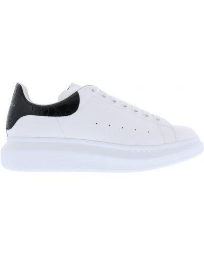 Sneakersy skorzane oversize Alexander Mcqueen