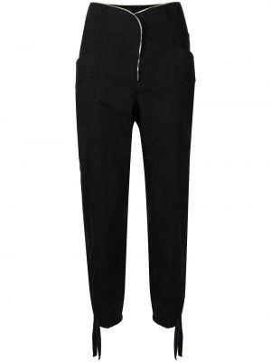 Czarne spodnie bawełniane Rta