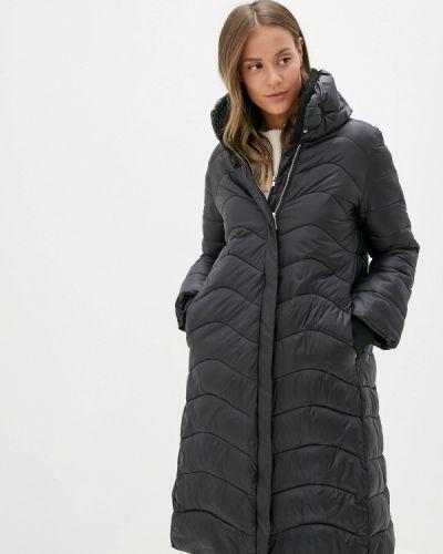 Зимняя куртка утепленная черная Rinascimento