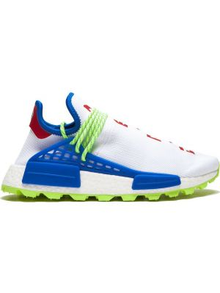 Niebieskie sneakersy Adidas By Pharrell Williams