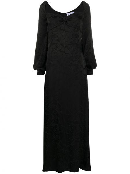 Вечернее платье макси на молнии Nervi
