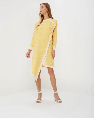 Платье желтый Sahera Rahmani