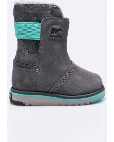 Ботинки серые Sorel