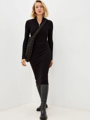 Вязаное платье - черное Pimkie