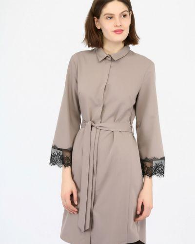 Платье платье-рубашка осеннее Monton
