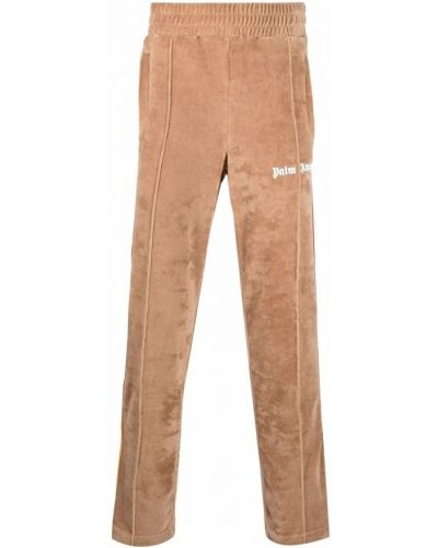 Spodnie - brązowe Palm Angels