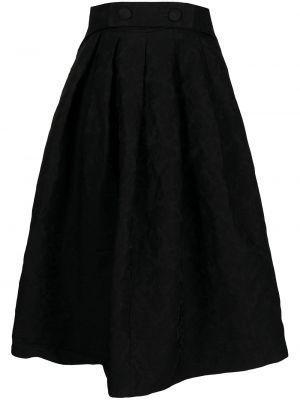 Юбка с завышенной талией - черная Comme Des Garçons Comme Des Garçons