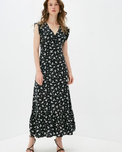 Черное прямое платье Pimkie