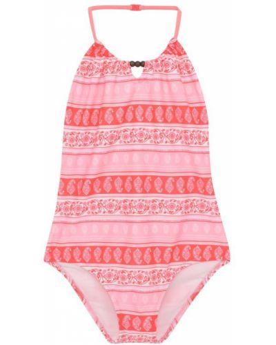 Слитный купальник розовый Sunuva