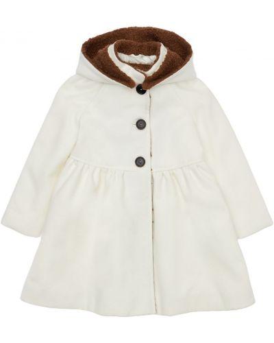 Белая куртка на пуговицах Mi.mi.sol.