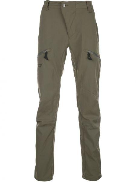 Брючные прямые брюки с поясом новогодние для беременных Klättermusen