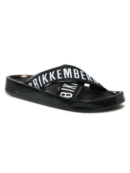Czarne sandały Bikkembergs