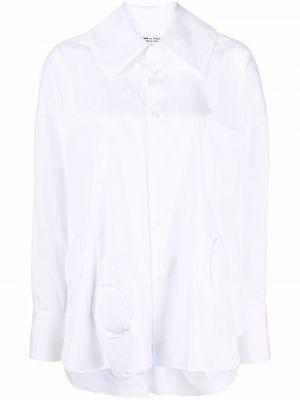 Рубашка с длинным рукавом - белая Comme Des Garçons Comme Des Garçons