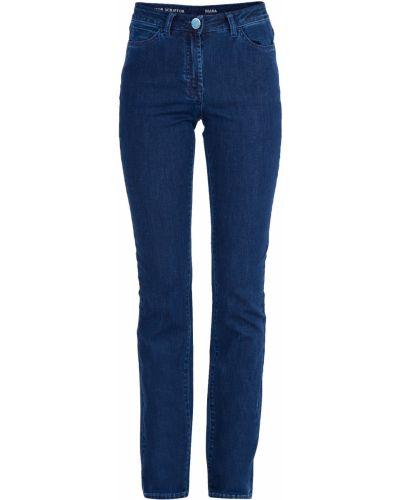 Прямые джинсы с вышивкой на пуговицах Scissor Scriptor
