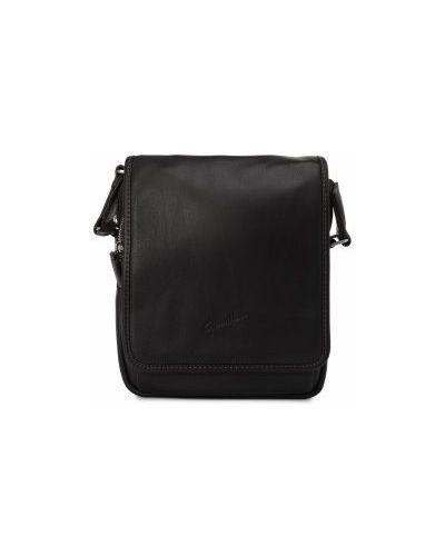 Кожаная сумка текстильная с отделениями Gerard Henon
