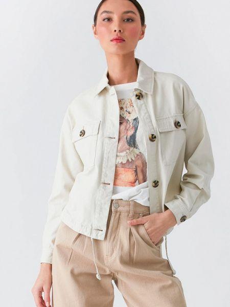 Джинсовая куртка весенняя Love Republic