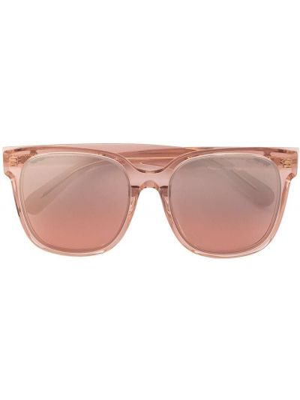 Okulary - różowe Moncler Eyewear