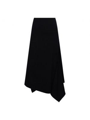 Шерстяная юбка - синяя Y`s